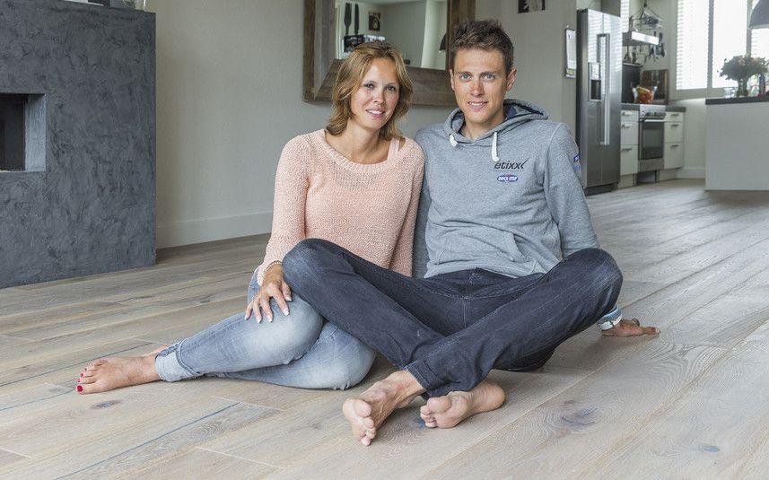 Niki Terpstra & his wife Ramona (May 2015)