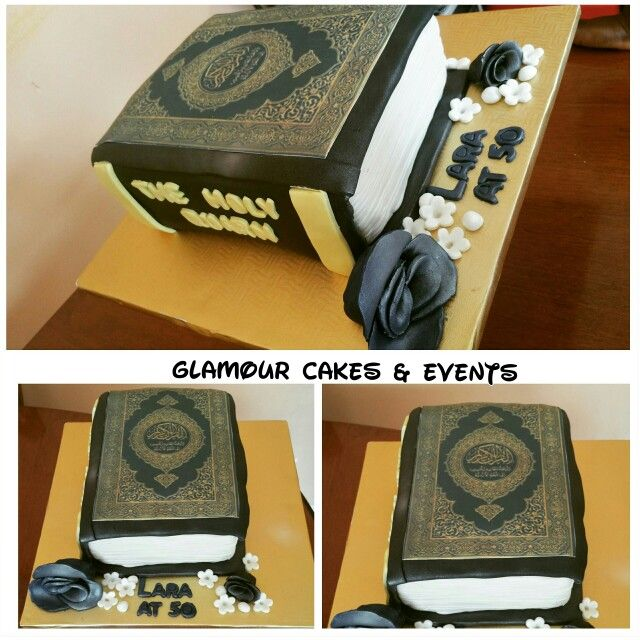 The Holy Quran Themed Cake Cake Eid Cake Religious Cakes Cake