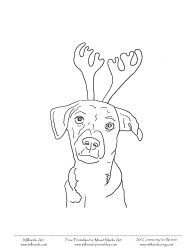 Christmas Coloring Pages Printables Christmas Dogs Coloring Sheets Christmas Coloring Pages Christmas Colors Dog Coloring Page