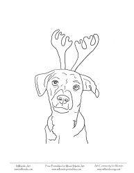 Christmas Coloring Pages Printables Christmas Dogs Coloring Sheets Christmas Coloring Pages Christmas Colors Dog Coloring Page