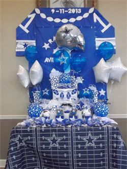 Gina S Dream Parties Dallas Cowboy Babyshower Justine