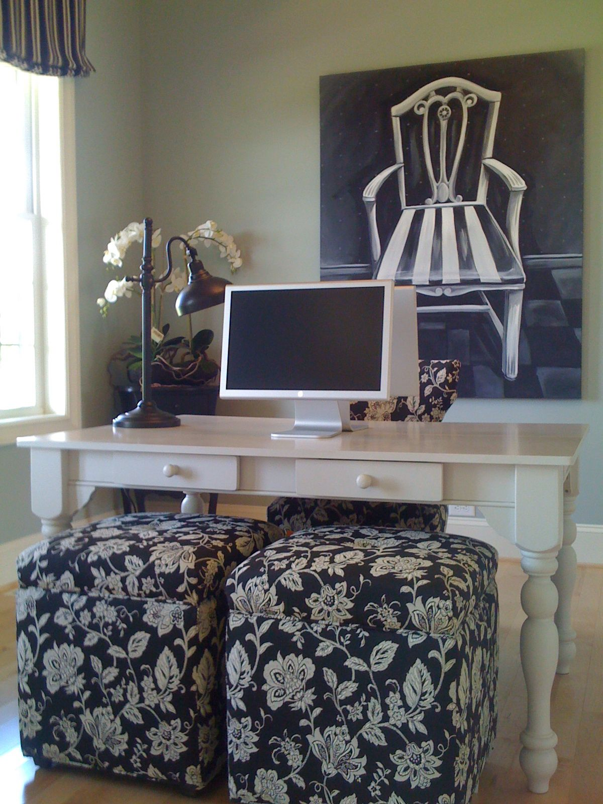 Home office painted in one of my top 10 colors Sherwin
