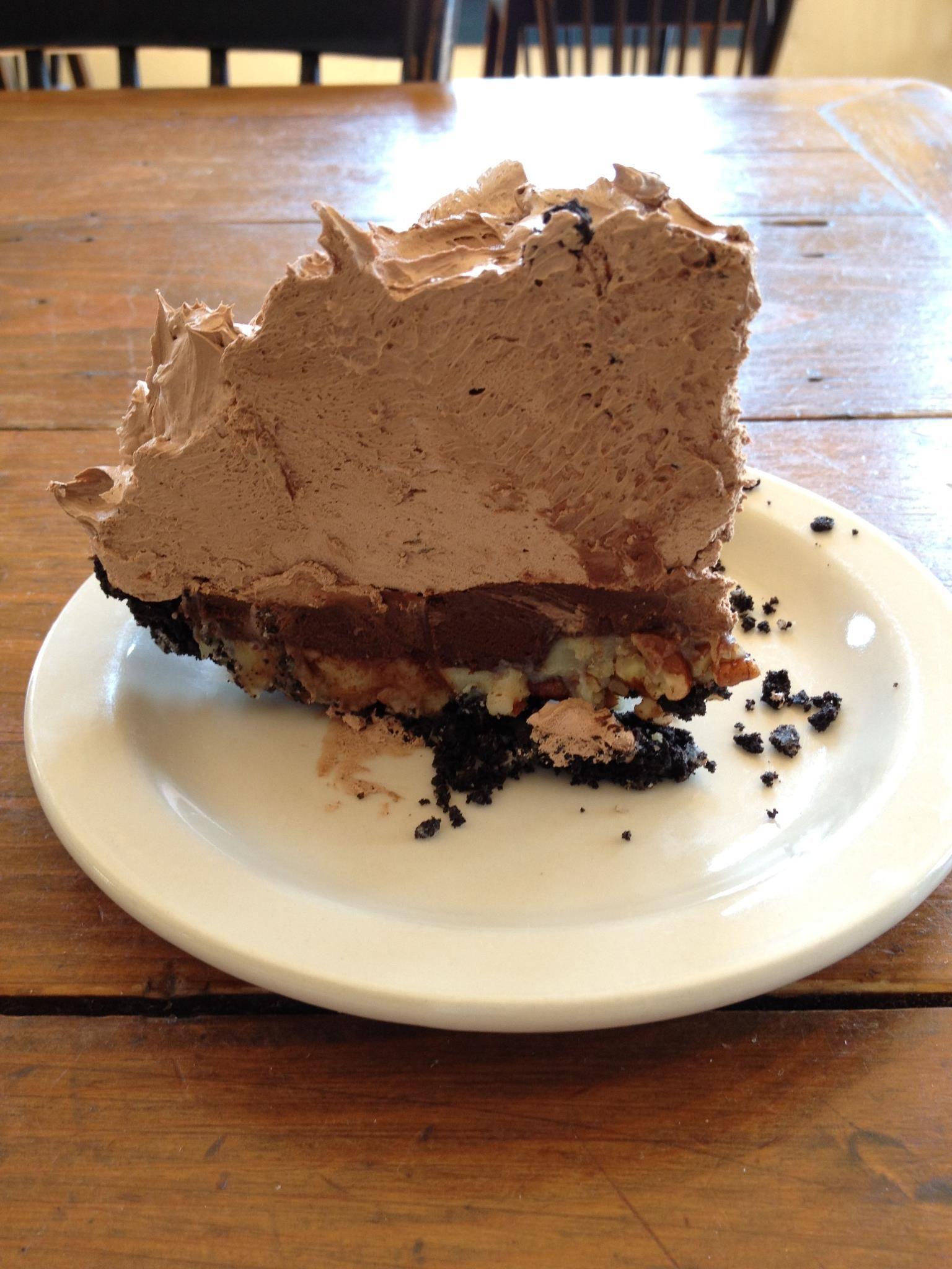 Chocolate caramel nut pie desserts just desserts