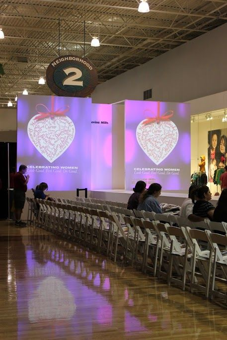Fashion show backdrop and runway   Fashion Show Decor in ...