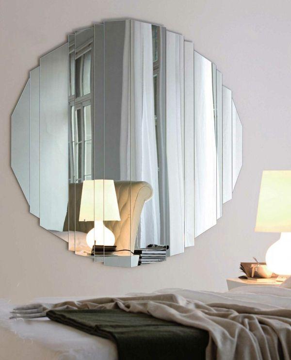 spiegel rund attraktives design schlafzimmer Mirrors Pinterest - spiegel für schlafzimmer