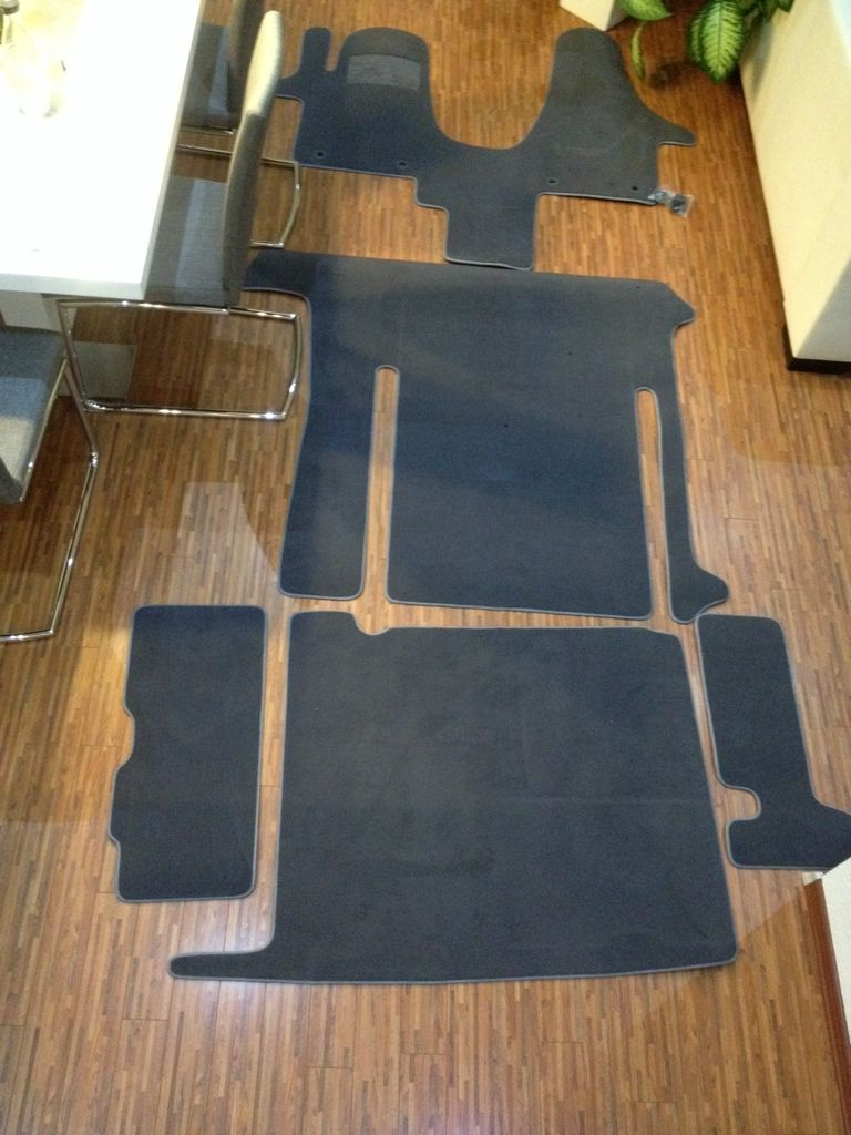 fu matten t6 california vw t6 california california. Black Bedroom Furniture Sets. Home Design Ideas