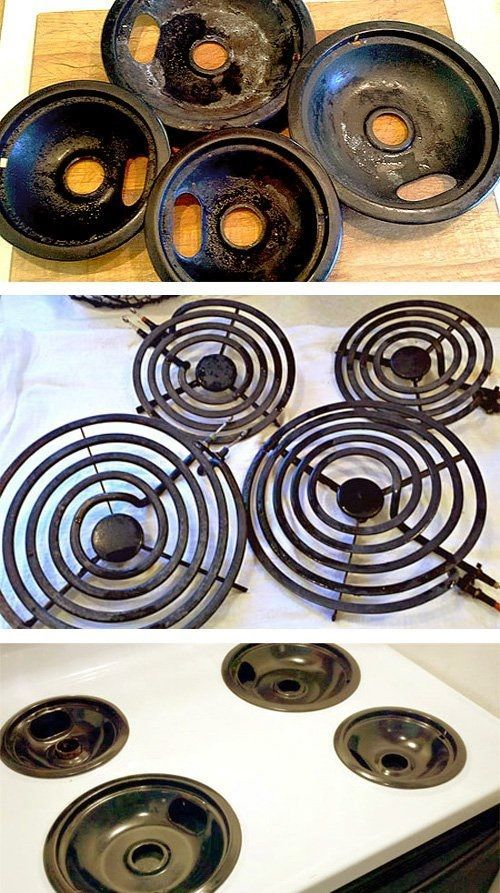 How To Clean Your Stove Burners Like A Pro Using One Ing