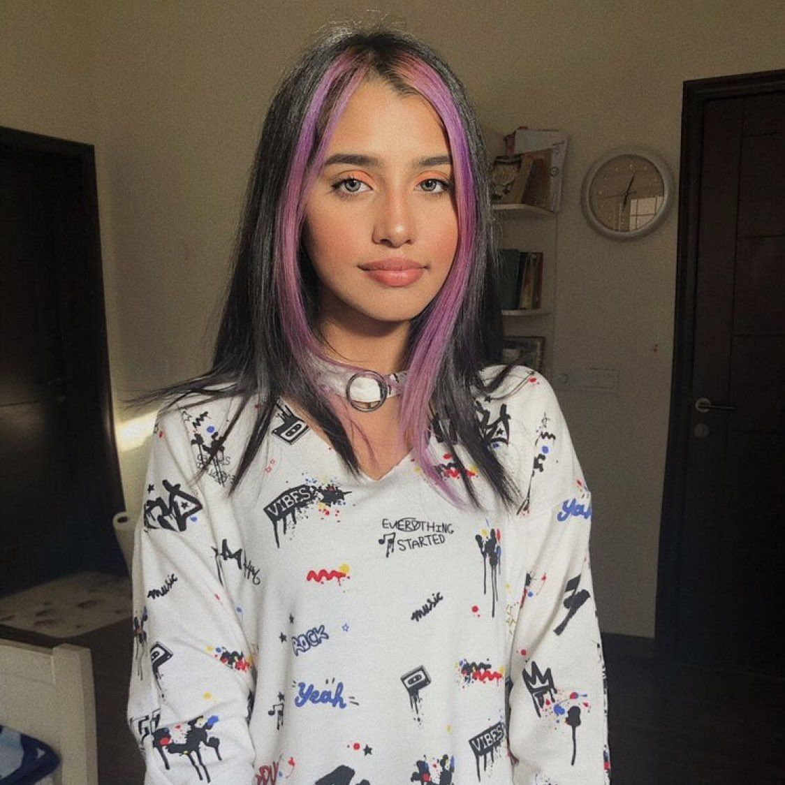 𝖘 On Hair Color Streaks Hair Streaks Aesthetic Hair