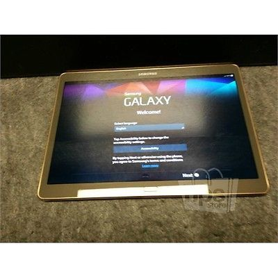 Samsung T807T Galaxy Tab S Tablet 10.5in 3GB 2.3GHz 4.4.2 for T-Mobile 16GB https://t.co/eWIi0ZglgG https://t.co/5ZSyLTAHkI
