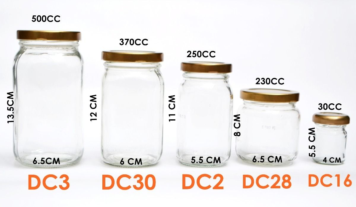 Docena envases vidrio conservas alimentos dulces frascos for Envases de vidrio decorados