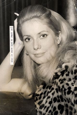 Deneuve's first big break came in 1964, when she was cast in Jacques Demy's musical Les Parapluies de Cherbourg. She went on to do three more films with Demy and in the process caught the eye of Roman Polanski, who cast her in 1965's Repulsion.