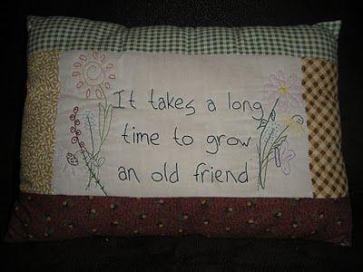 grow an old friend