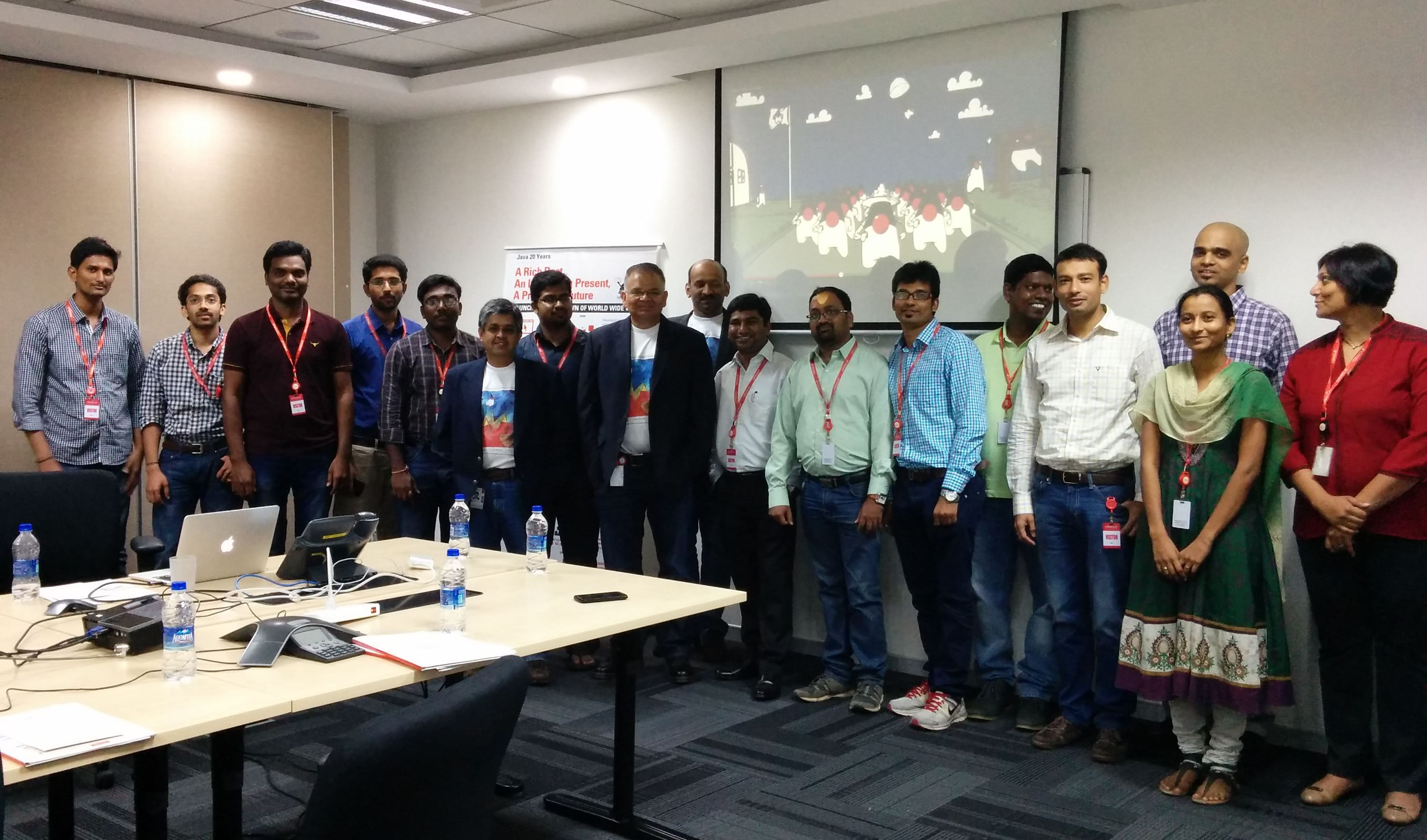 Java Blogger Meet, Oracle IDC, Hyderabad