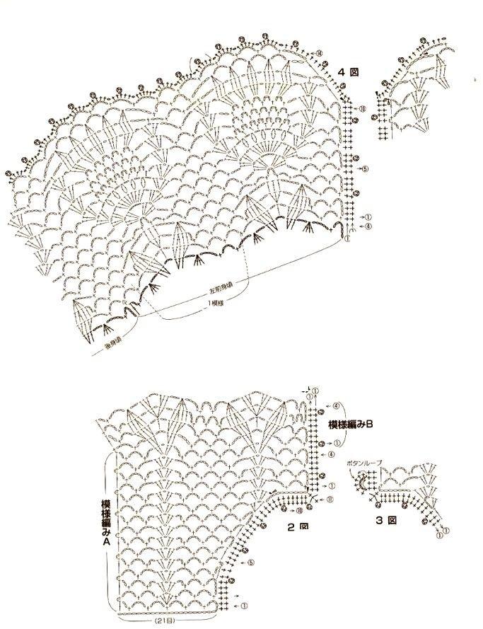 Patrones para hacer blusa de crochet | Poleras | Pinterest | Blusas ...