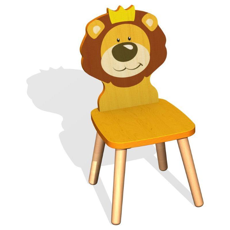 Kinderstuhle Mit Lustigen Tier Sujets Kinderstuhle Kinder Und
