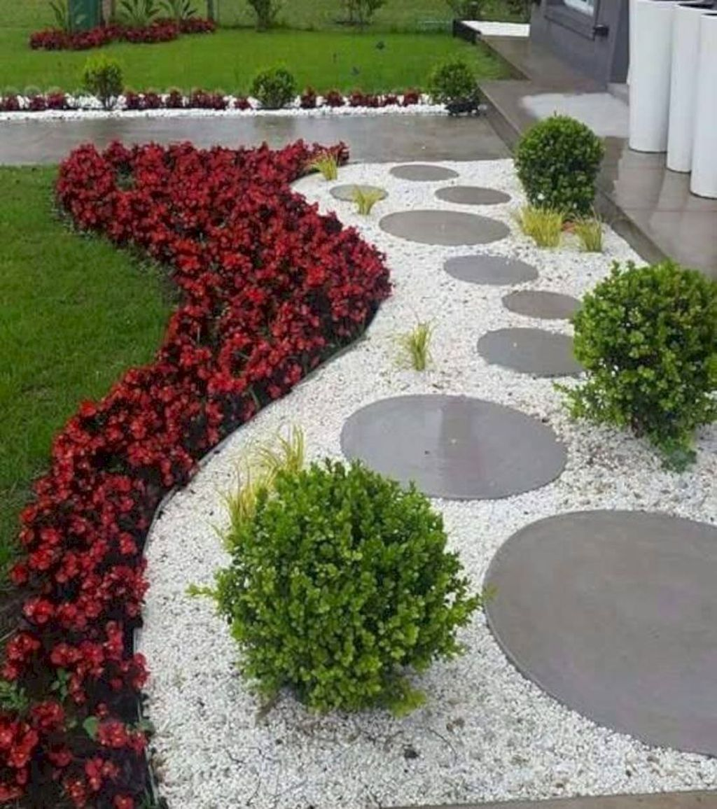 20 Best Small Yard Landscaping Design Ideas Trenduhome Small Garden Landscape Rock Garden Landscaping Small Garden Landscape Design