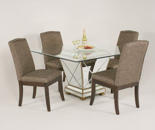 Mirage 5pc Dining With Colleen Chairs