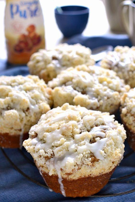 Caramel Cappuccino Muffins
