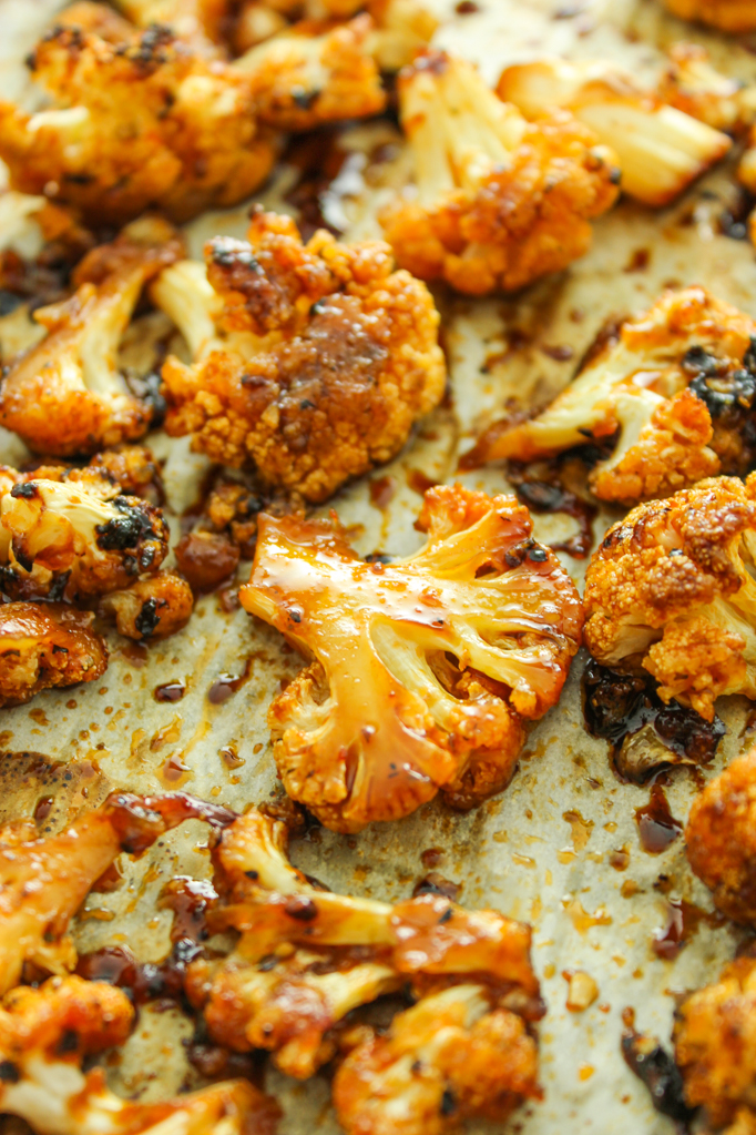 Photo of Sweet and Spicy Roasted Cauliflower from The Fitchen