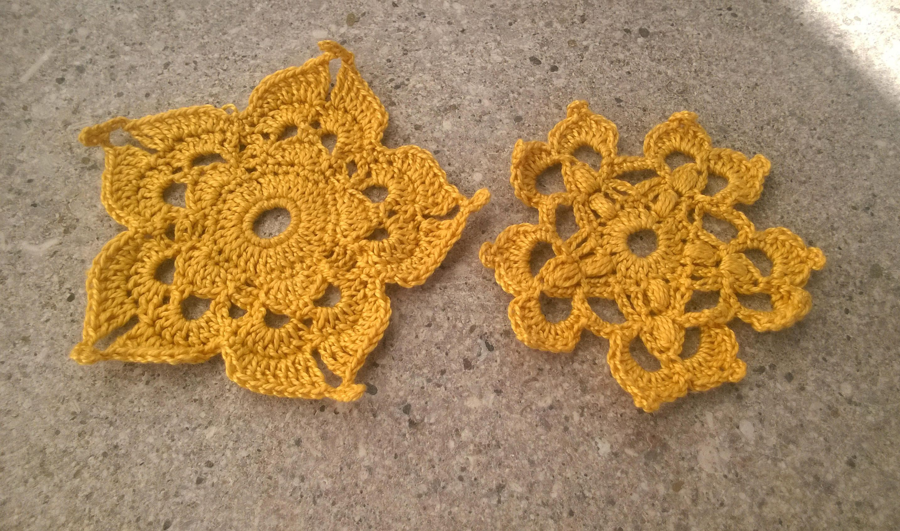 Crochet flower motif pattern, crochet flower doily, crochet lace doily, crochet applique, small mini crochet doilies, irish crochet motifs #irishcrochetflowers