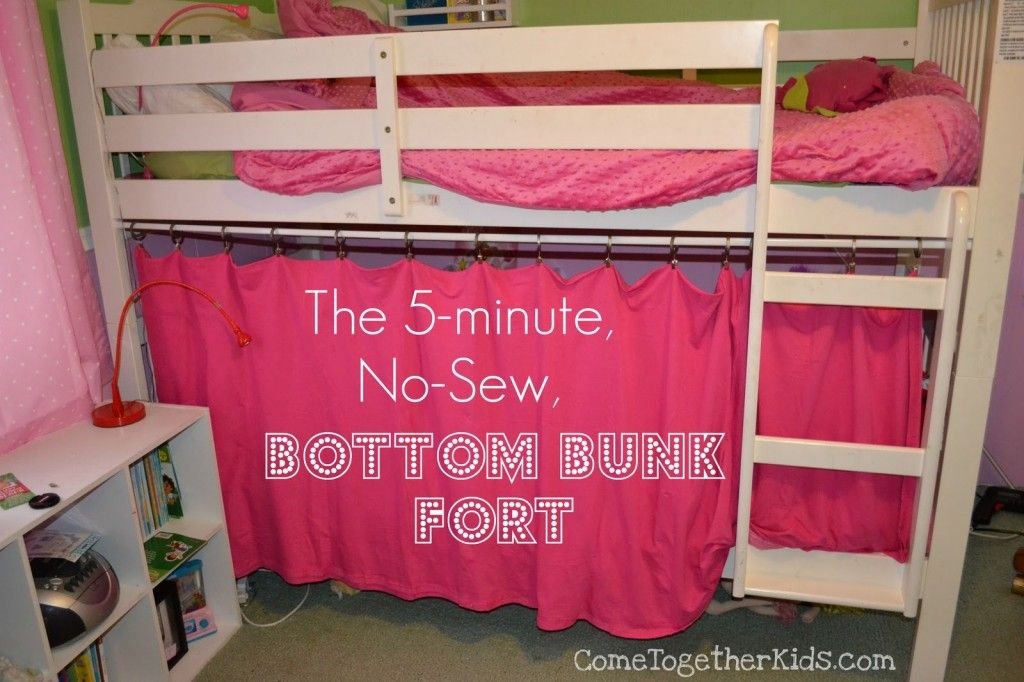 diy loft bed private little bunk bed fort? Check out