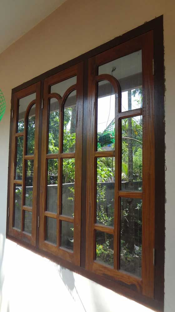 Top wood door window design 86 for your interior designing for Window frame design