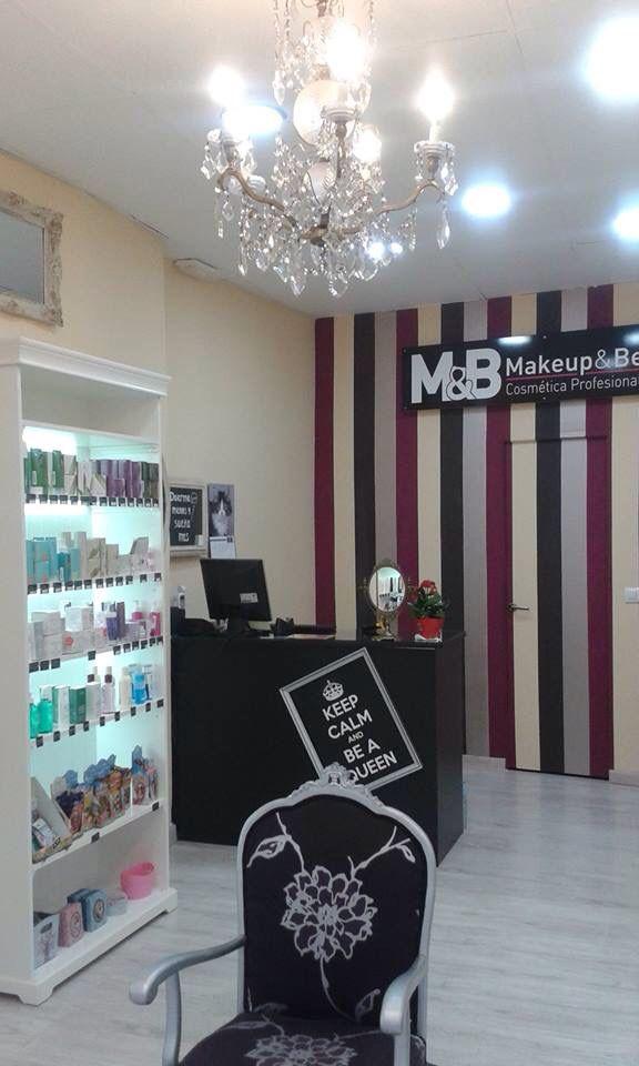 Make up shop diseo de tienda de maquillaje y cosmeticos