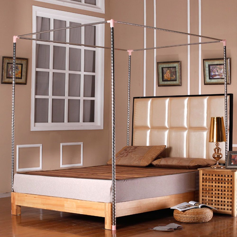 Stainless Steel Mosquito Bed Netting Canopies Net Frame