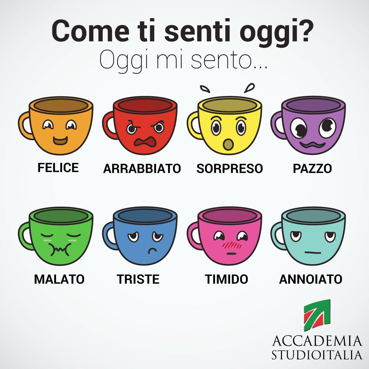 Come Ti Senti Oggi Feelings In Italian Learnitalian With