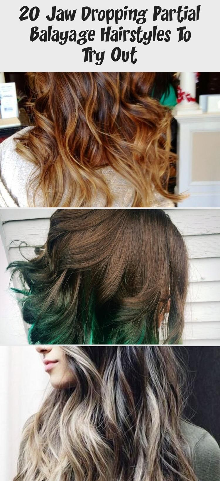 20 Jaw Dropping Partial Balayage Hairstyles To Try Out In 2020 Balayage Hair Hair Styles Partial Balayage