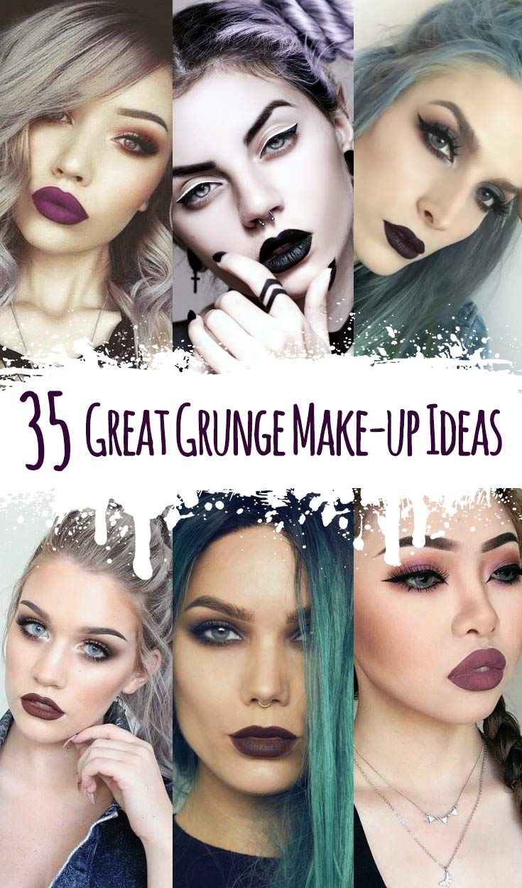 35 Great Grunge Make Up Ideas Eye Makeup Makeup Makeup Looks - Grunge-makeup-ideas