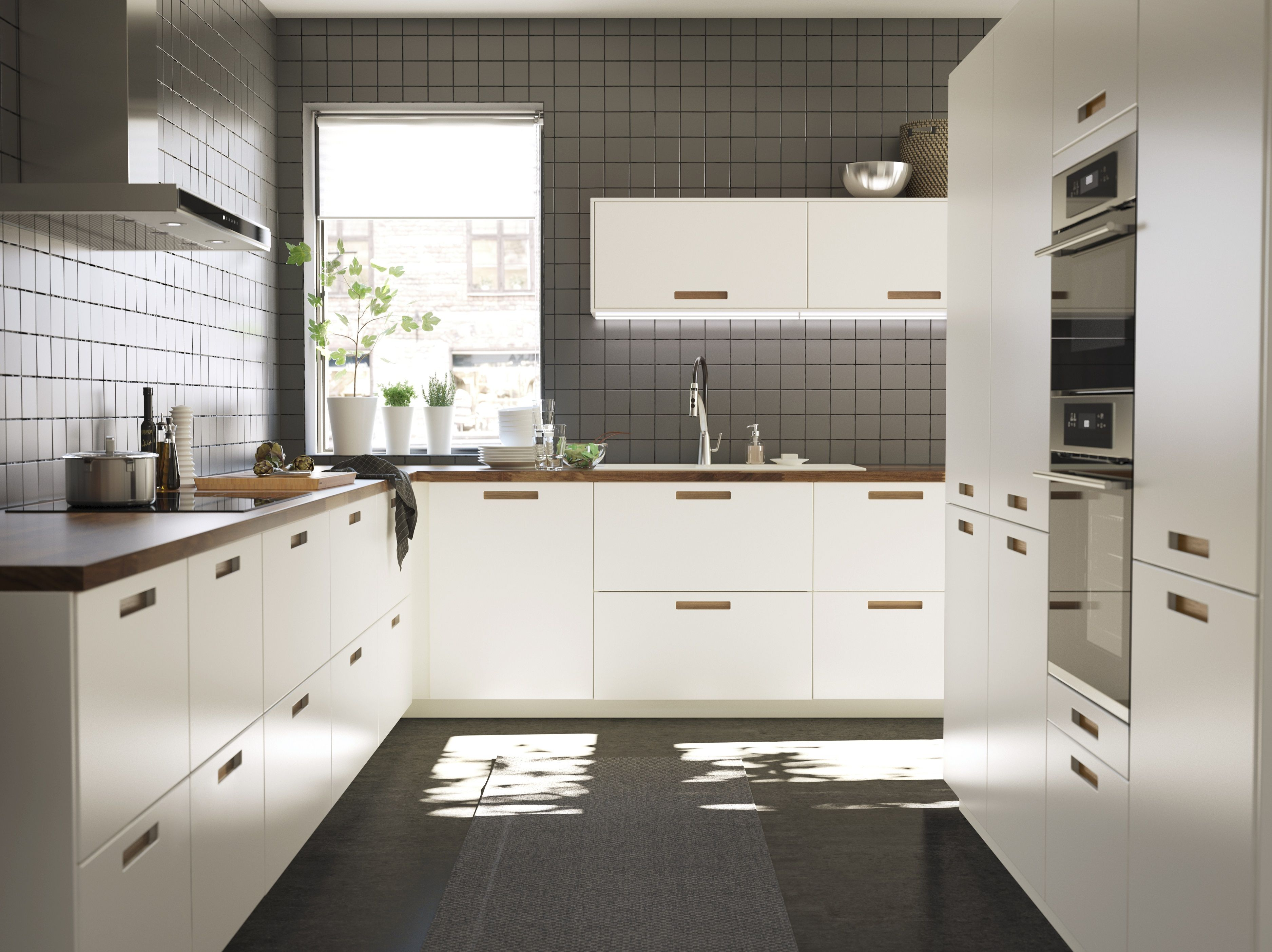 Diy Keuken Ikea : Metod keuken ikea ikeanl gastronomisch wit bruin