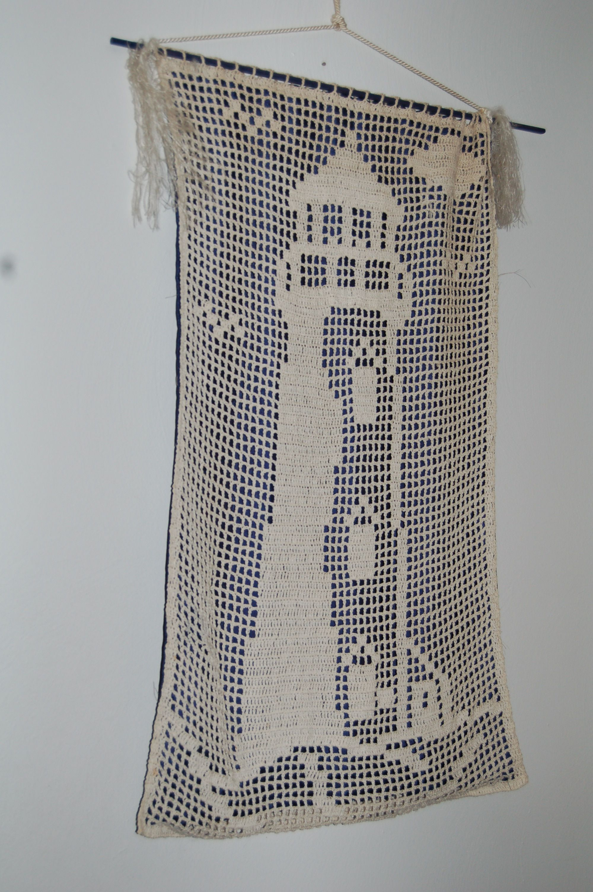 filet crochet lighthouse | sea | Pinterest | Gardinen, Gardinen ...