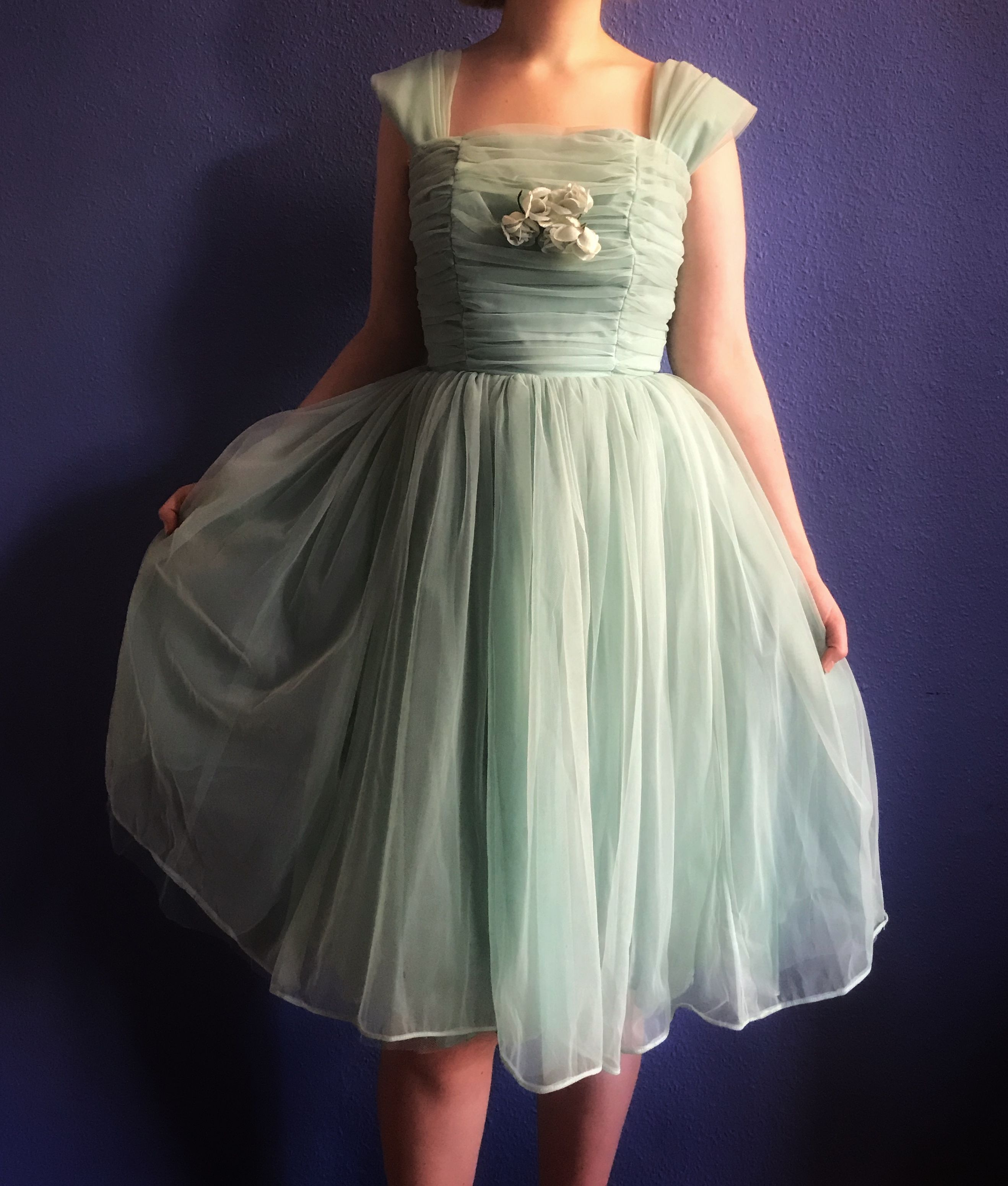 Reserved Don T Buy Green 50s Dress Pastel Tulle Prom Etsy Green Prom Dress 50s Dresses Prom Dresses [ 3101 x 2636 Pixel ]