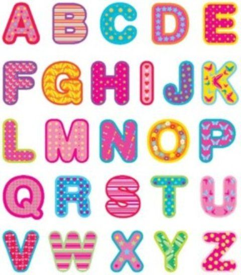 Abecedario Grande Para Imprimir Imagui Modelos De Alfabeto