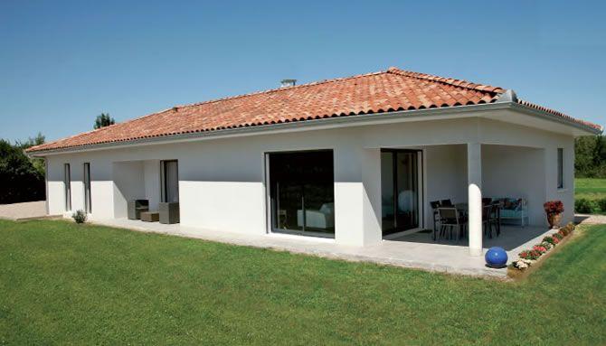 Maison contemporaine 3 chambres plain pied 110 m2 Home Pinterest - frais annexes construction maison3