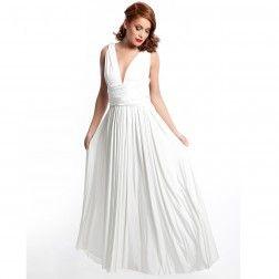 106aa1bf308b Eliza and Ethan Diva Multi Wrap Dress; Ivory Colour #wedding #bridesmaid  #maxi #multiwrap