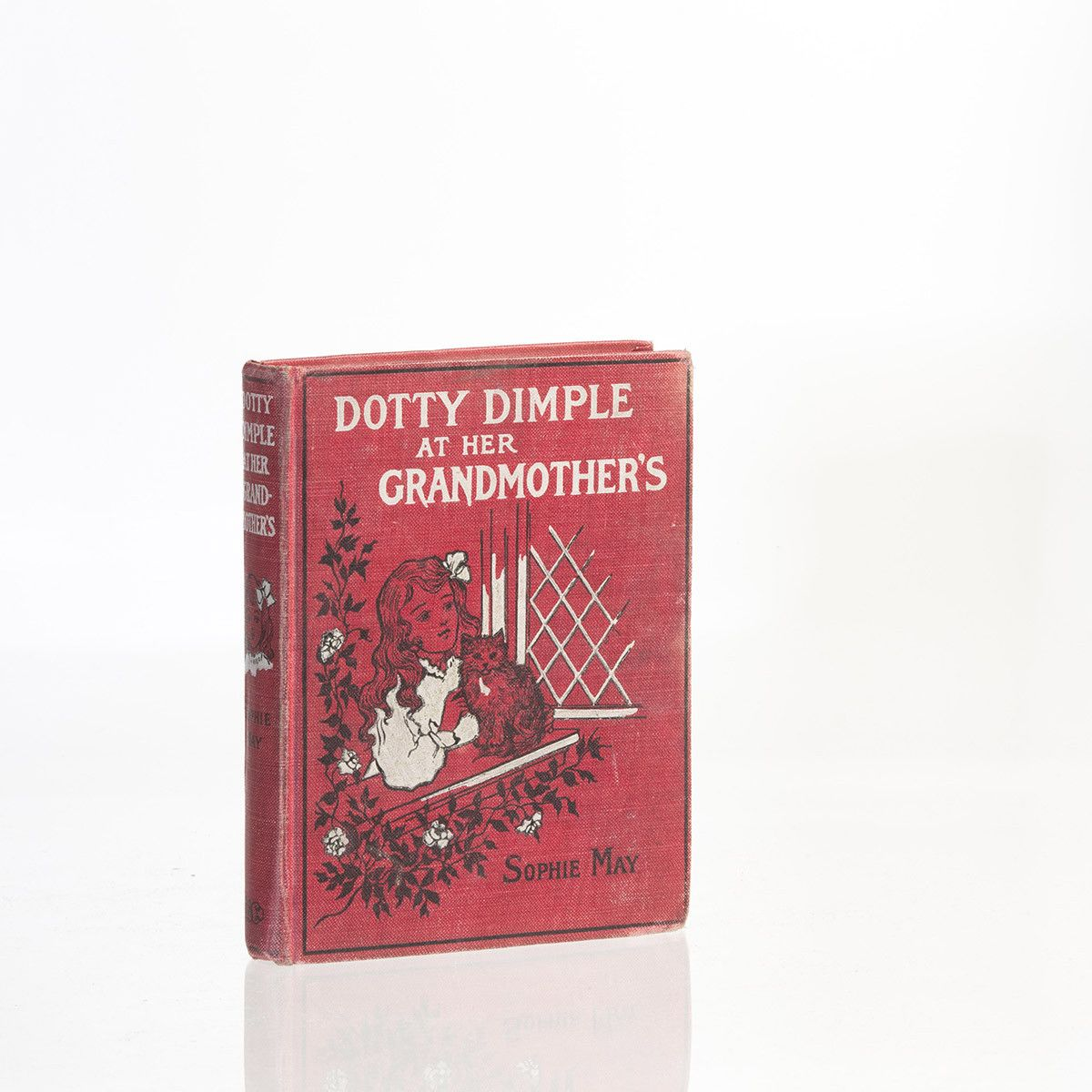 Vintage Dotty Dimple at Her Grandmother's Book