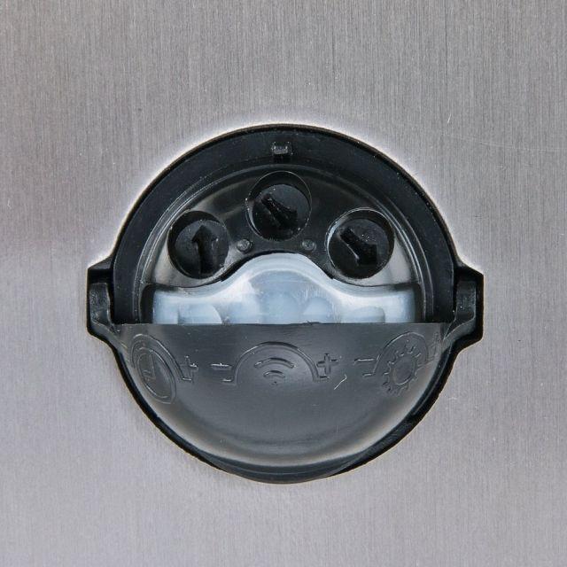LED Wandleuchte ROM, M. Bewegungsmelder, Außenleuchte, 2 Flammig, Edelstahl,
