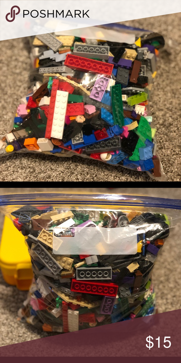 Legos Gallon Ziploc Bag Full Of Legos Great Condition Lego Other Lego For Kids Lego Kids Shop