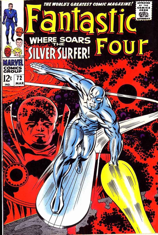 fantastic four covers silver age  fantastc four v  silver  - comic book artists · fantastic four covers