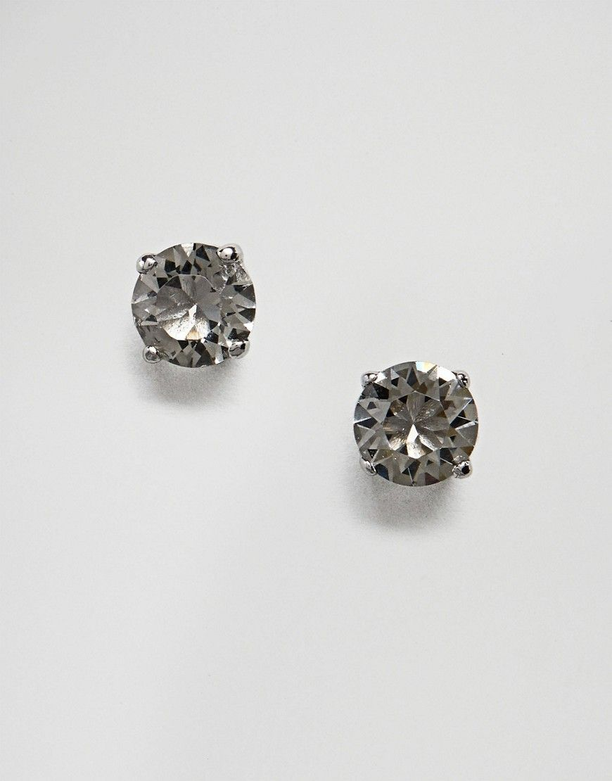 8bf9455200583 Simon Carter round black swarovski crystal stud earrings | Products ...