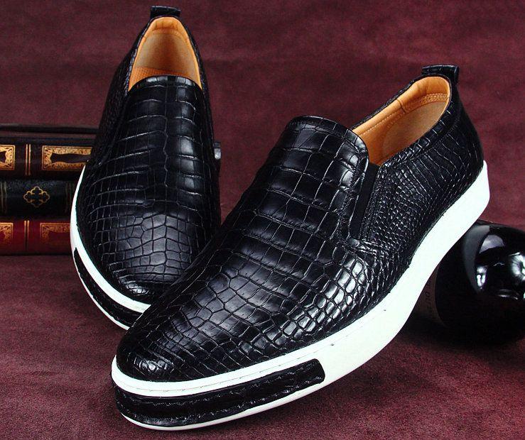 Fashion Genuine Alligator Leather Shoes Alligator Shoes
