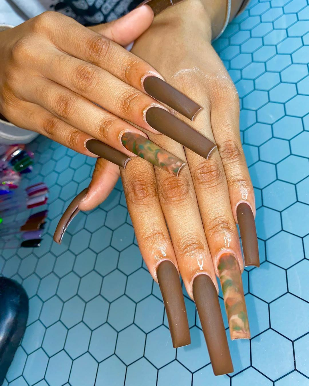 Pin by GlizzyGlamourous on { CLAW$ } | Halloween nails ...