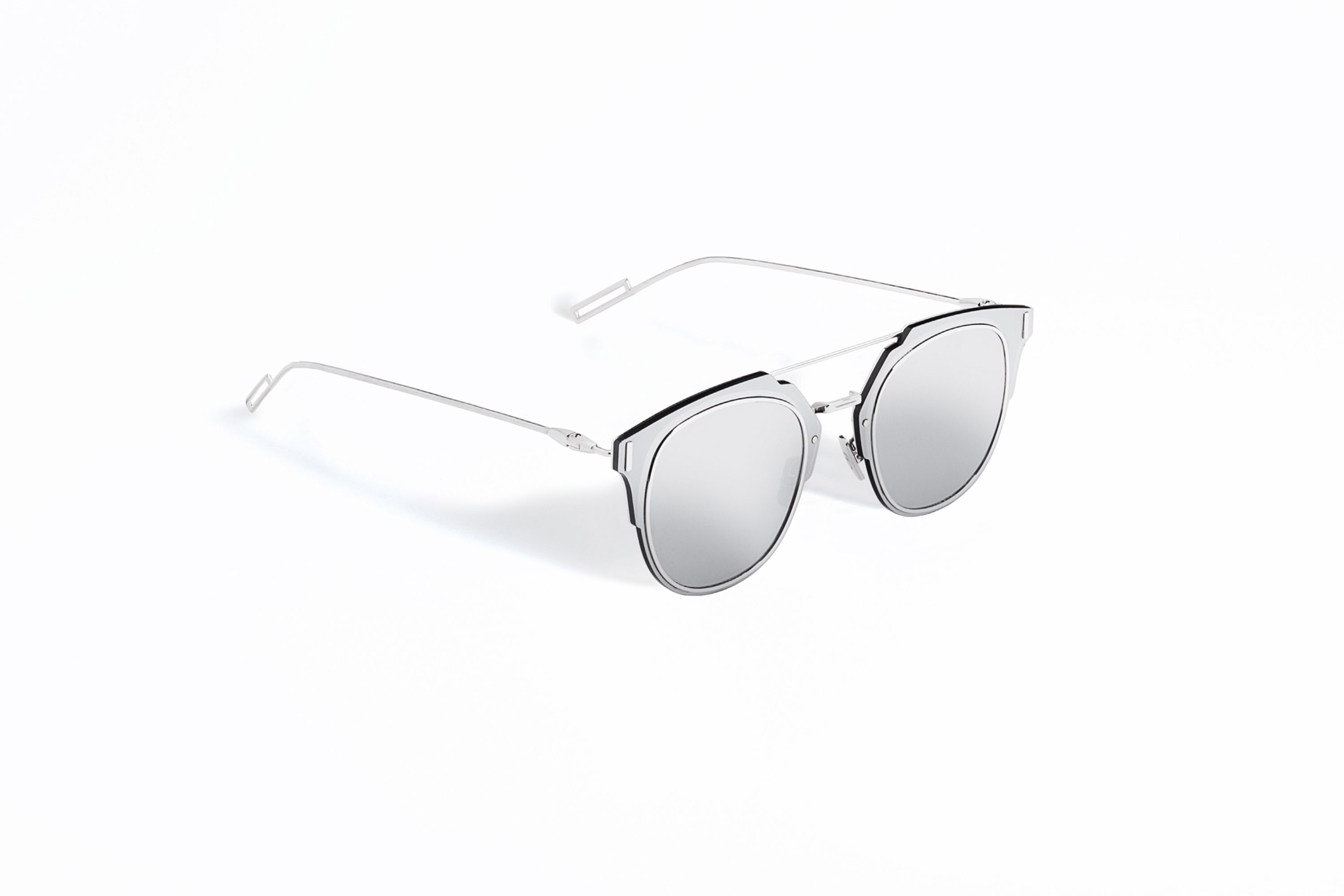 lunettes dior composit 1 0 argent dior 430 eur 590 at saks and bloomingdale 39 s my style