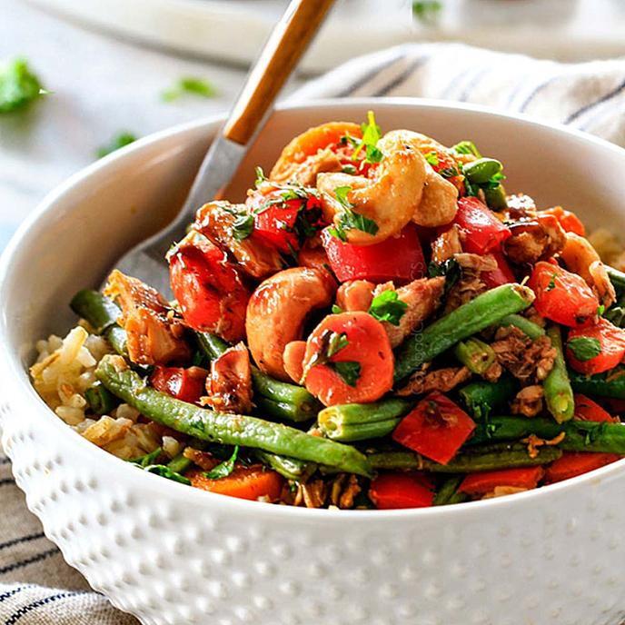 Healthy Seafood Favorites Recipes Chicken Of The Sea In 2021 Tuna Veggie Bowl Healthiest Seafood Good Healthy Recipes