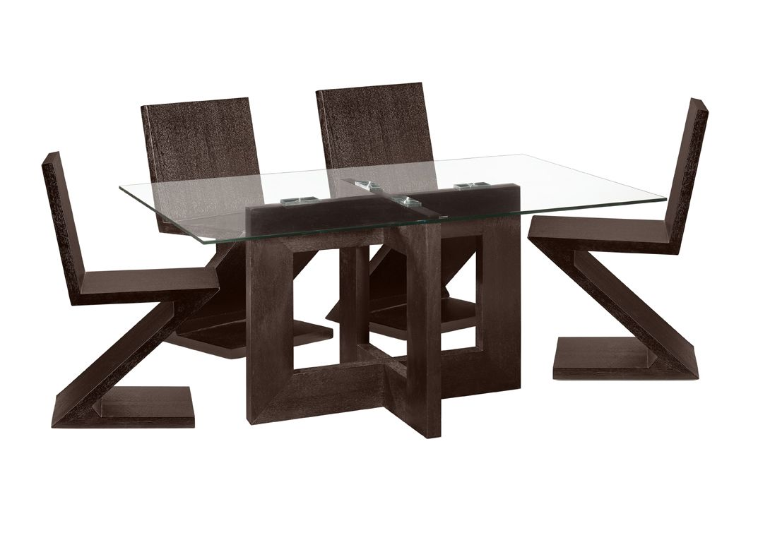 Modern dining table designs with glass top - Sisustusideoita