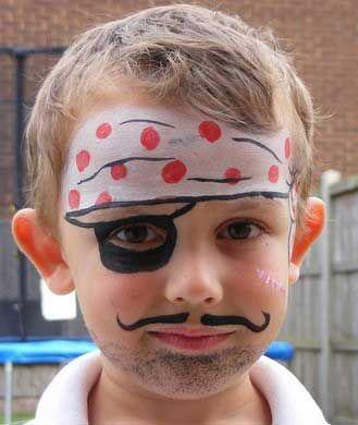 7 ideas de maquillaje infantil de Halloween o Carnaval Maquillaje - maquillaje de halloween para nios