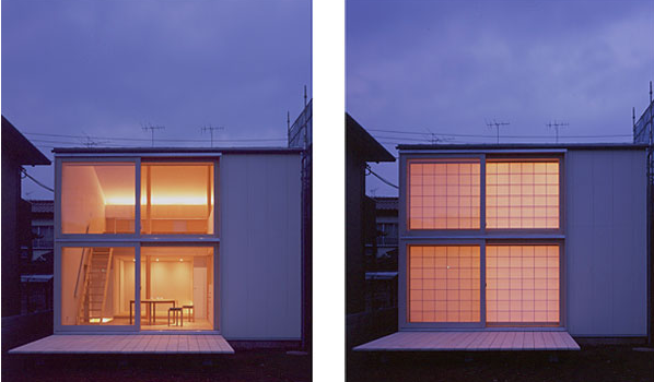 Small Japanese House Design I Like That You Can Cover The Windows