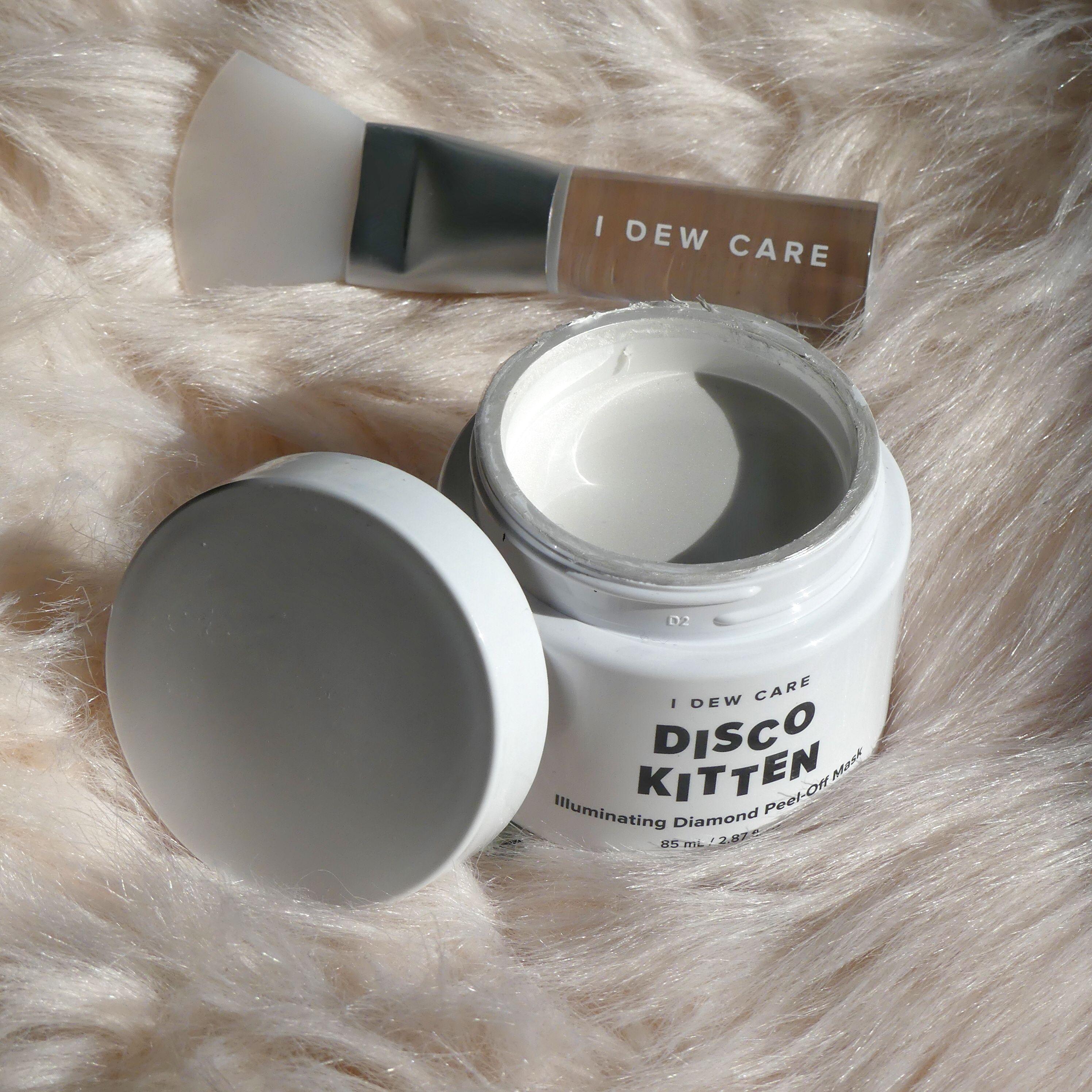 Idewcare S Disco Kitten Peel Off Mask Pearl Powder Peel Off Mask Disco